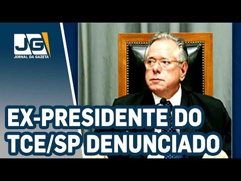 Ex-presidente do TCE/SP denunciado por corrupção