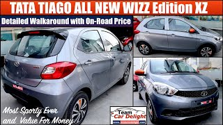 New Tiago Wizz Edition Detailed Review with On Road Price,Interior,Features | Tiago XZ Model 2020
