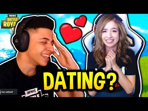 POKIMANE ASKS MYTH IF HE HAS A GIRLFRIEND! FLIRTS WITH MYTH!?! Fortnite FUNNY & SAVAGE Moments