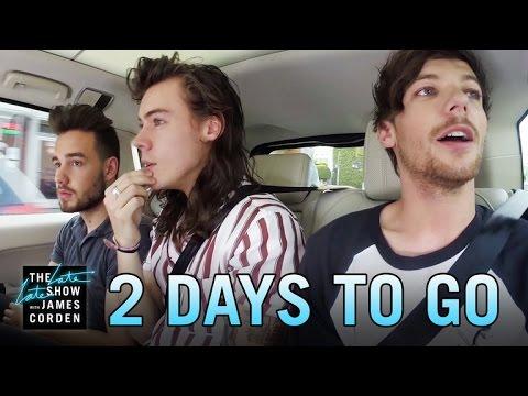 One Direction Carpool Karaoke: 2 Days to Go