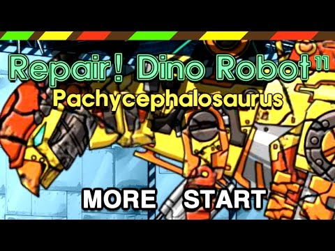 Repair Dino Robot 11: Pachycephalosaurus   FULL GAME PLAY - 1080 HD   DCTE VN