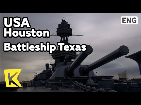 【K】USA Travel-Houston[미국 여행-휴스턴]세계대전 텍사스호/Battleship Texas Historic Site/World War/Okinawa Battle