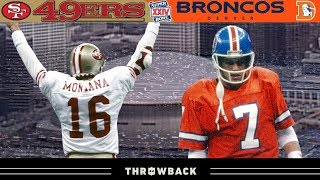 The WORST Blowout in Super Bowl History! (49ers vs. Broncos, Super Bowl 24)