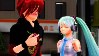 ♀♥♂[MMD - Miku and Akaito] - Anything You Can Do I Can Do Better - [+Motion Data in Description]♂♥♀