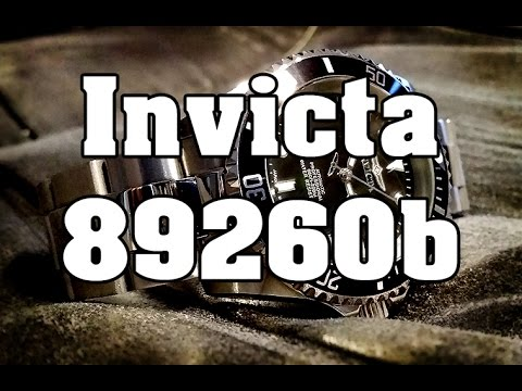 Invicta 89260B – Review, Measurements and Lume