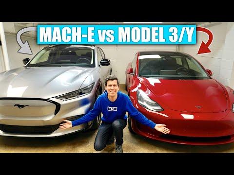 Ford Mustang Mach-E vs Tesla Model 3, Model Y - Tesla's Still King
