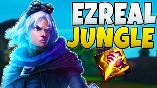HOW THE HECK DOES THIS WORK - Ezreal Jungle CARRY TIME - League of Legends S7