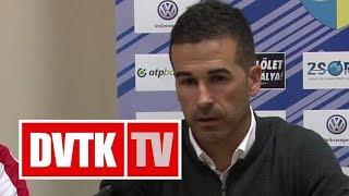 Fernando Fernandez értékelése | Mezőkövesd - DVTK | 2018. szeptember 15. | DVTK TV