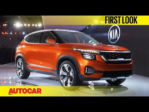 Kia first car for India -SP Concept | Auto Expo 2018 | First Look | Autocar India