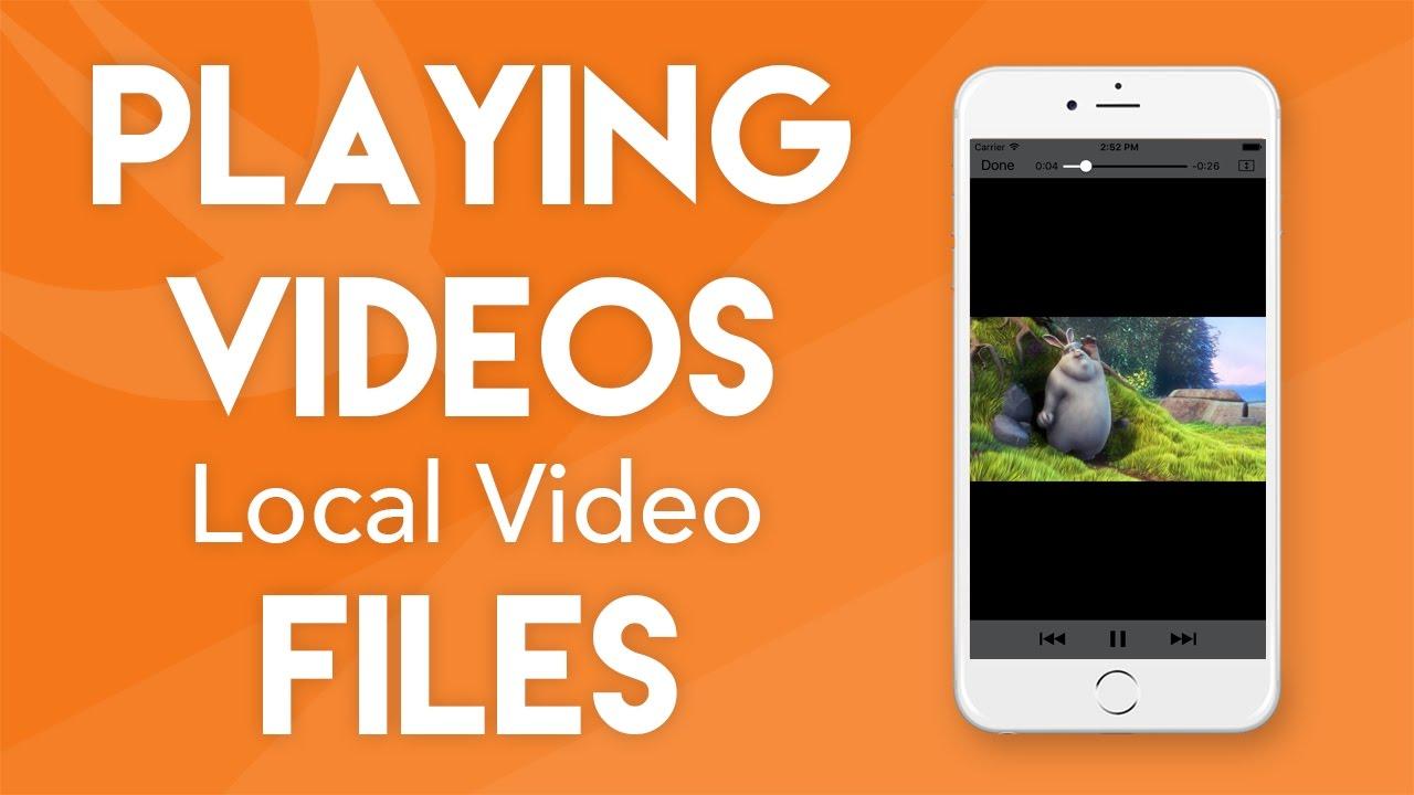Swift 3 Tutorial - Playing Videos - iOS 10 Geeky Lemon Development