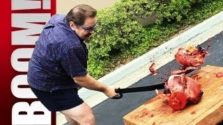 """ZOMBIES"" Cutlass Machete, Car vs. Bike, and How to Hold A GUN. ""ZOMBIE APOCALYPSE SURVIVAL""."