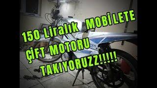 (0.26 MB) 150 LİRALIK MOBİLETE ÇİFT MOBİLET MOTORUNU TAKIYORUZ!!! Mp3