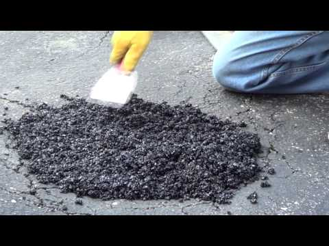 Driveway Pothole Repair - Asphalt Driveway Repair