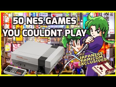 Top 50 NES Games You Couldn't Play -  Good Japanese Nintendo