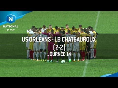 J14 US Orléans – LB Châteauroux (2-2), le résumé