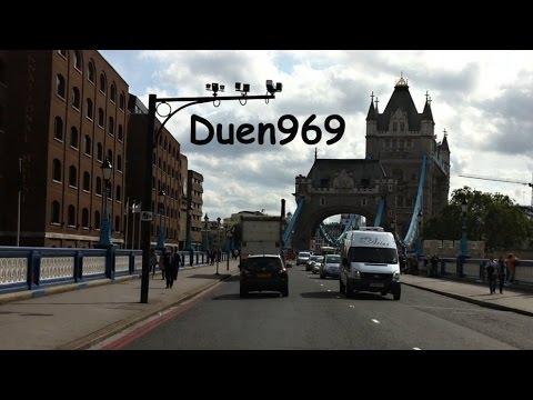 London Streets (573.) - Blackwall Tunnel  - Poplar - Tower Bridge - Southwark