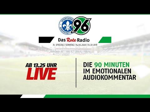 RE-LIVE: Das Rote Radio zum Auswärtsspiel beim SV Darmstadt