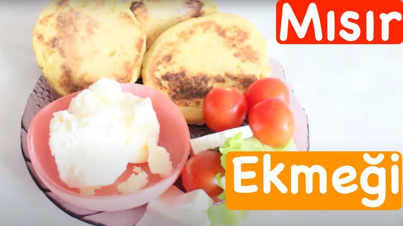 Mısır Ekmeği Nasıl Yapılır – videolu tarifler – Yemek Tarifleri