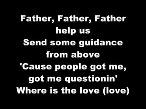 Black Eyed Peas - Where is the Love Lyrics