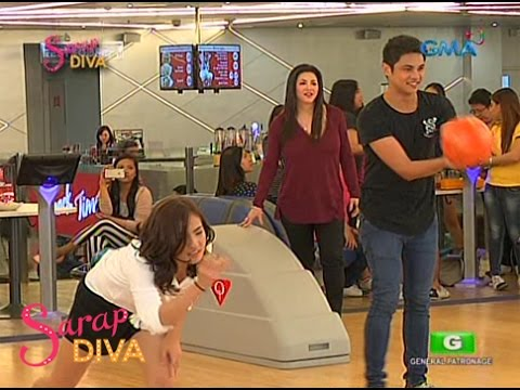 Sarap Diva: Bowling challenge with fans