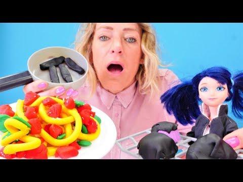 Miraculous Ladybug - Nicole hilft Marinette beim Kochen - Spielzeugvideo für Kinder