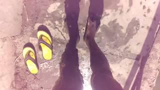 Вот как нужно купаться на канале))
