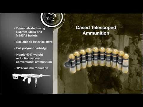 Textron Systems - Lightweight Small Arms Technologies (LSAT) [720p]