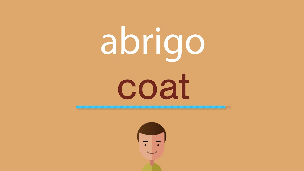 El abrigo en ingles como se escribe