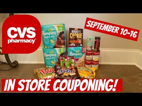 CVS IN STORE COUPONING 9/10/17-9/16/17!...