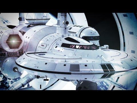 NASA'S STAR TREK ENTERPRISE SHIP PLANS!