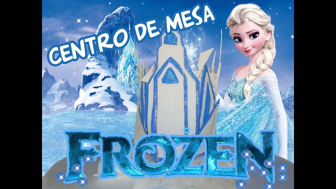 Centro de mesa da frozen for Centros de mesa de frozen
