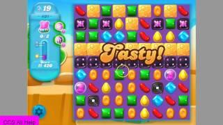 Candy Crush Soda Saga level 401 No Boosters