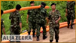 🇹🇭 Rescuers pour in to help Thailand find missing football team | Al Jazeera English