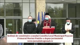 Eveniment festiv la Pașcani. Noua conducere a depus jurământul