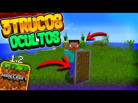 TOP 3 TRUCOS QUE QUIZAS NO CONOZCAS DE MINECRAFT PE 1.2!! |TRUCOS Y CURIOSIDADES