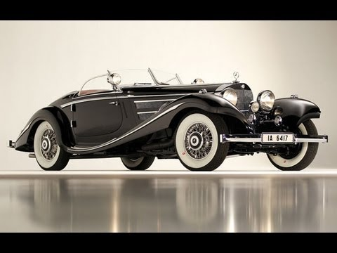 1936 Mercedes Benz 540 K Special Roadster 11 770 000 Sold