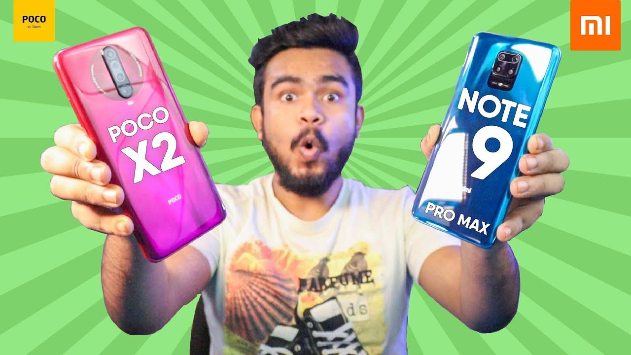 POCO X2 vs. Redmi Note 9 Pro Max Speed Test (OMG😲😲)