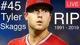 Skaggs Dead at 27 | MLB Los Angeles LA Angels Pitcher Tyler Skaggs Passes Away In Texas Hotel Room
