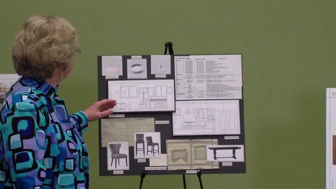 Interior Design Presentation Boards - Home Economics Careers and Technology  Education - YouTube