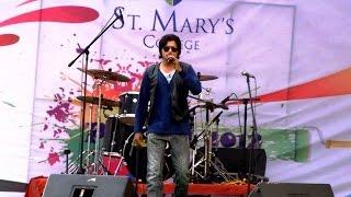 Dil ne tum ko chun liya | Singer Kabir Rafi LIVE | ST.MARY College Hyderabad