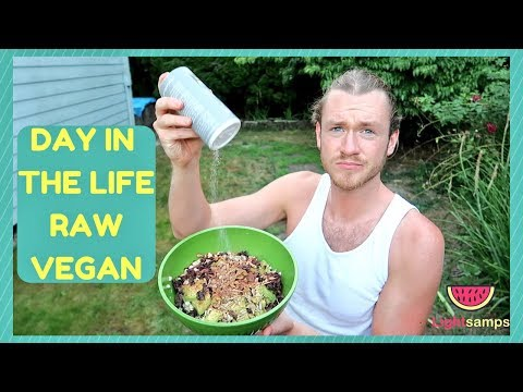 DAY IN THE LIFE OF A RAW VEGAN
