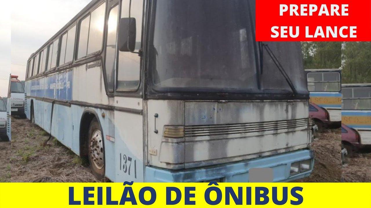 LEILÃO DE ÔNIBUS RODOVIÁRIO E URBANOS,  LANCES LIBERADOS!