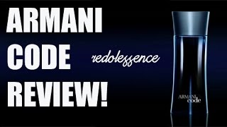 Armani Code by Giorgio Armani Fragrance / Cologne Review