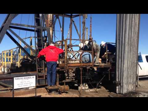Oil Well Workover Anadarko Basin