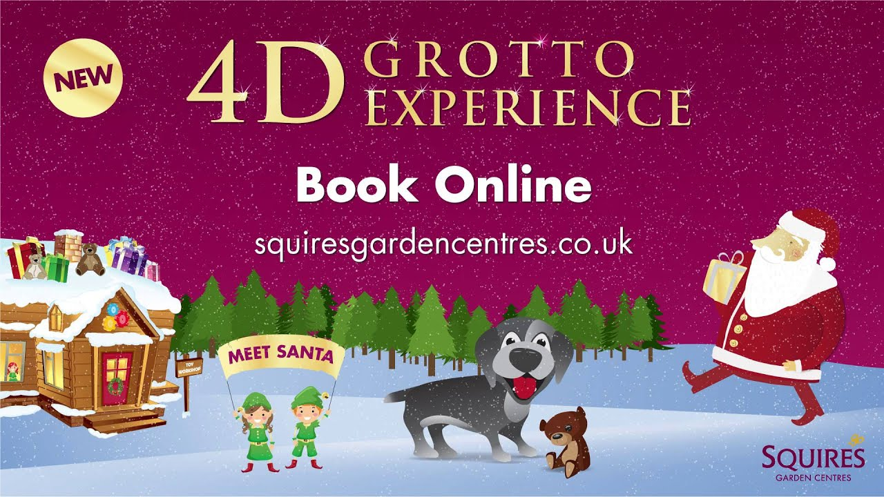 4d grotto experience at squire u0027s garden centre milford youtube