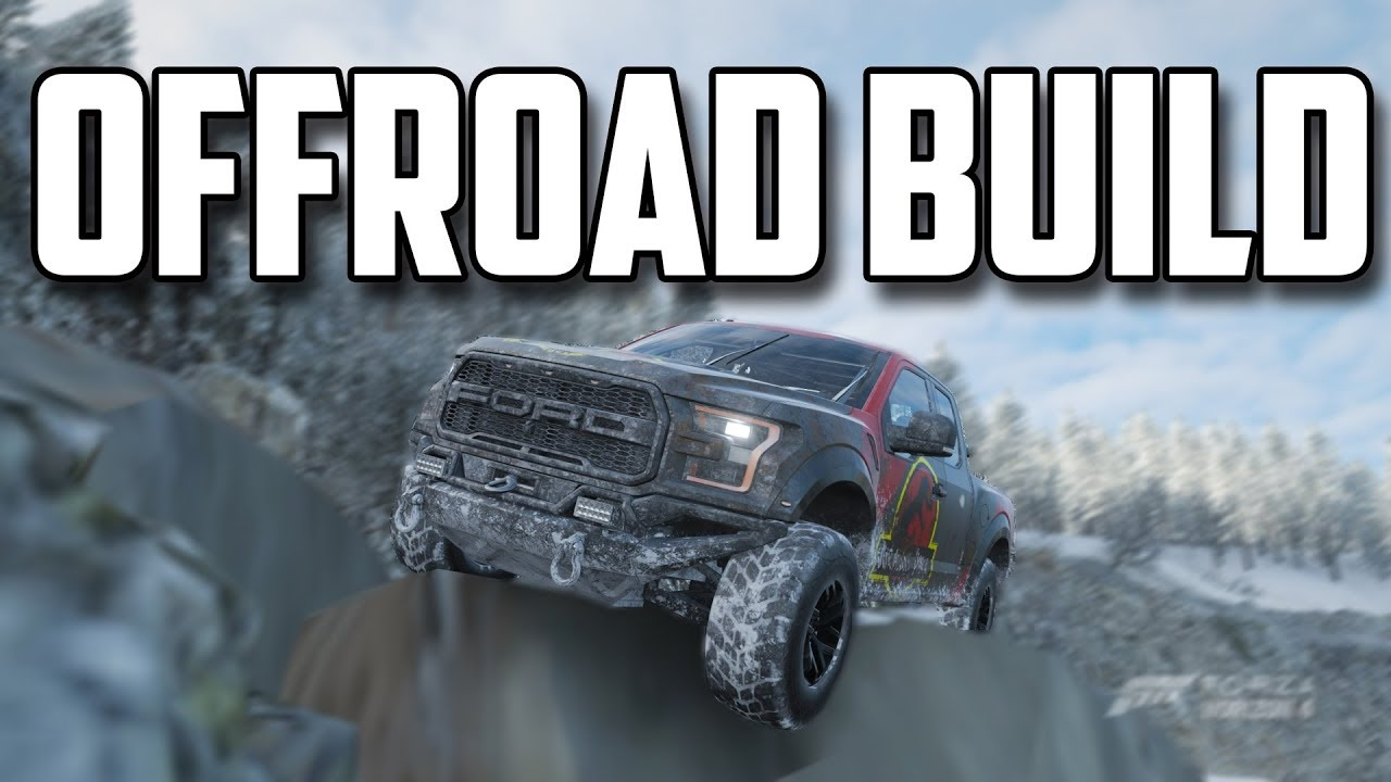 Building the Best OFFROAD Truck in Forza Horizon 4