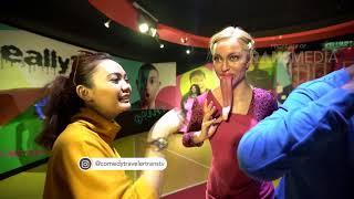 COMEDY TRAVELER - Pak Eprod Pura-Pura Jadi Patung Ketauan Teh Rina (22/4/18) Part 2