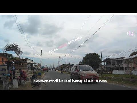 Stewartville Railway line area, West Coast Demerara l Real Nice Guyana (HD)