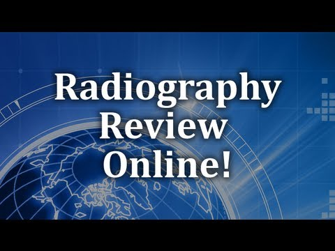 ARRT Registry Review - Radiography Exam - General Components and Structure