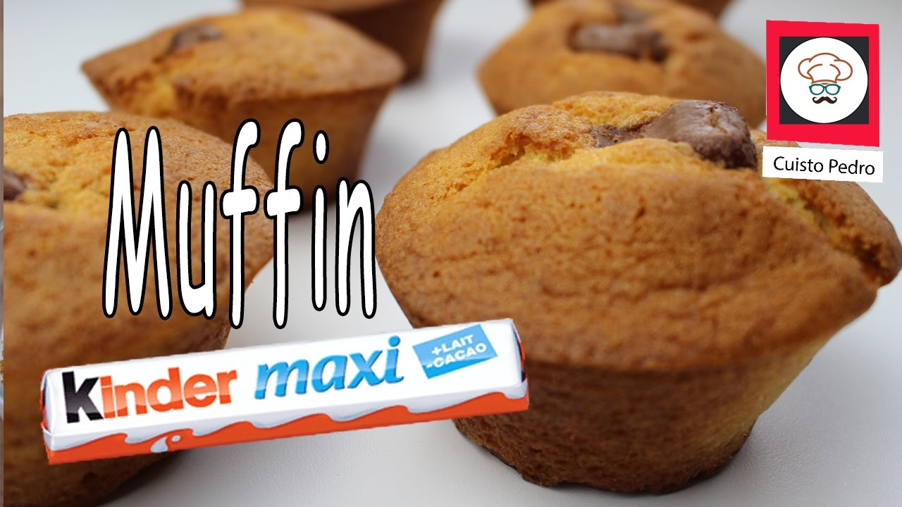 recette thermomix tm5 muffin kinder maxi youtube. Black Bedroom Furniture Sets. Home Design Ideas